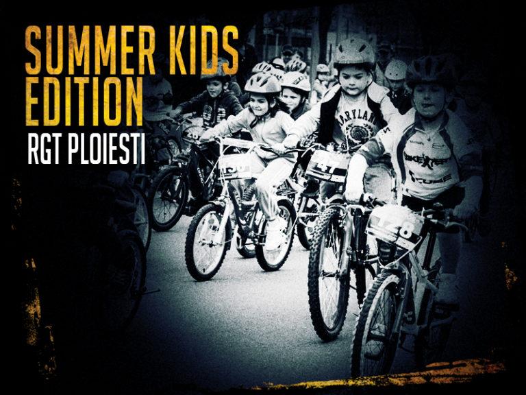 Concurs pentru biciclişti mici şi mari pe Bulevardul Castanilor din Ploieşti