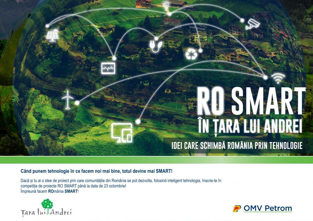 """""""RO SMART în Țara lui Andrei"""", competiția națională de proiecte inteligente"""