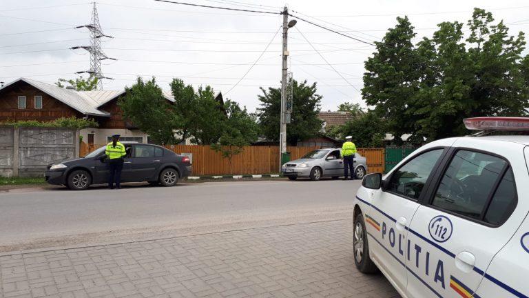 45 de sancțiuni în doar trei ore de control în trafic, în zona Câmpina