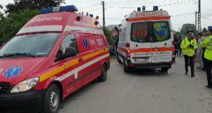 Accident cu doi răniți la Paulesti