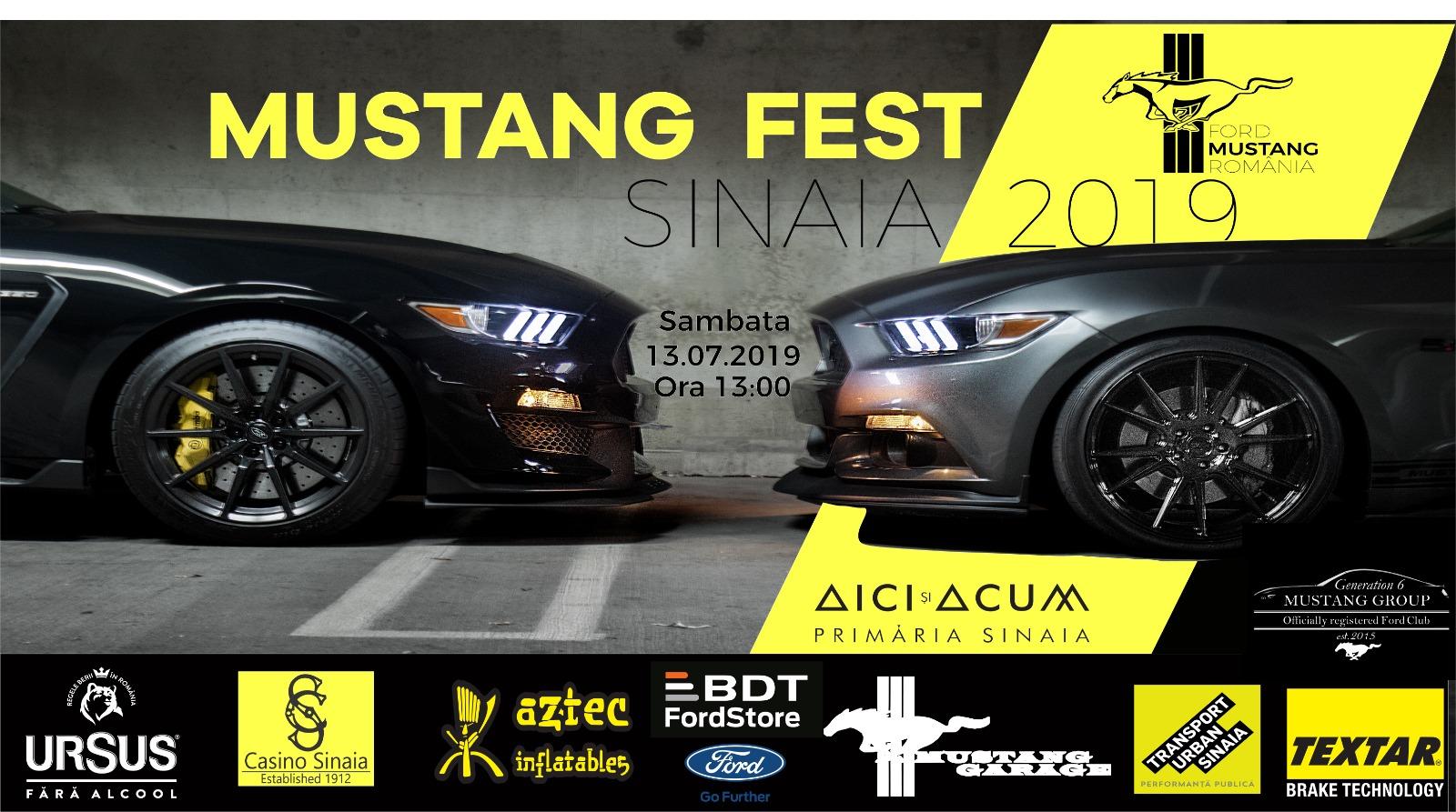 Mustang Fest 2019 aduce la Sinaia maşini şi motociclete deosebite pe muzică rock