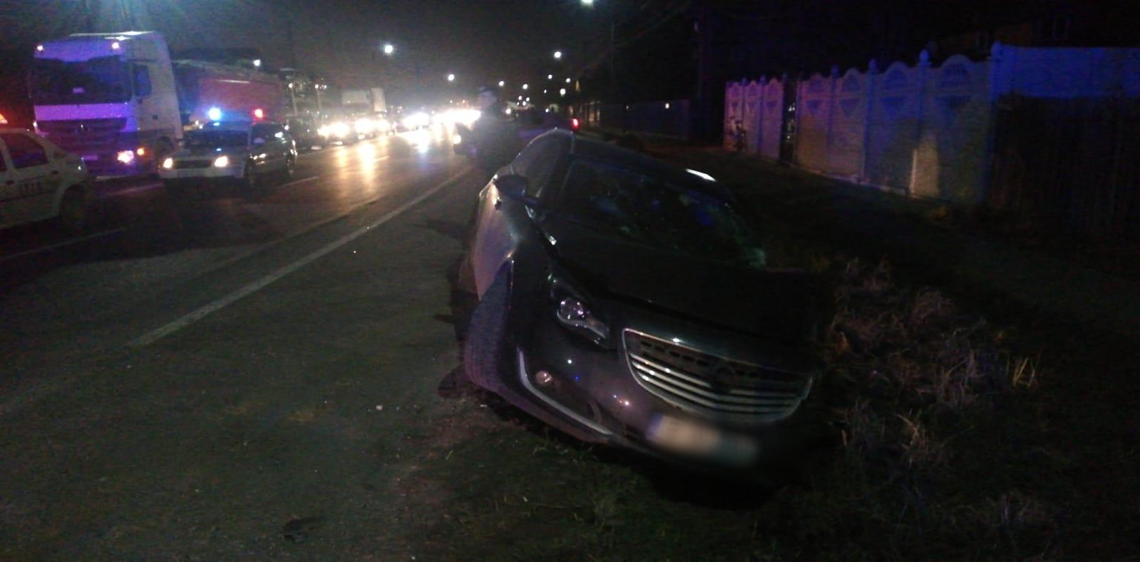 Trafic blocat pe DN1 la Movila Vulpii din cauza a două accidente rutiere