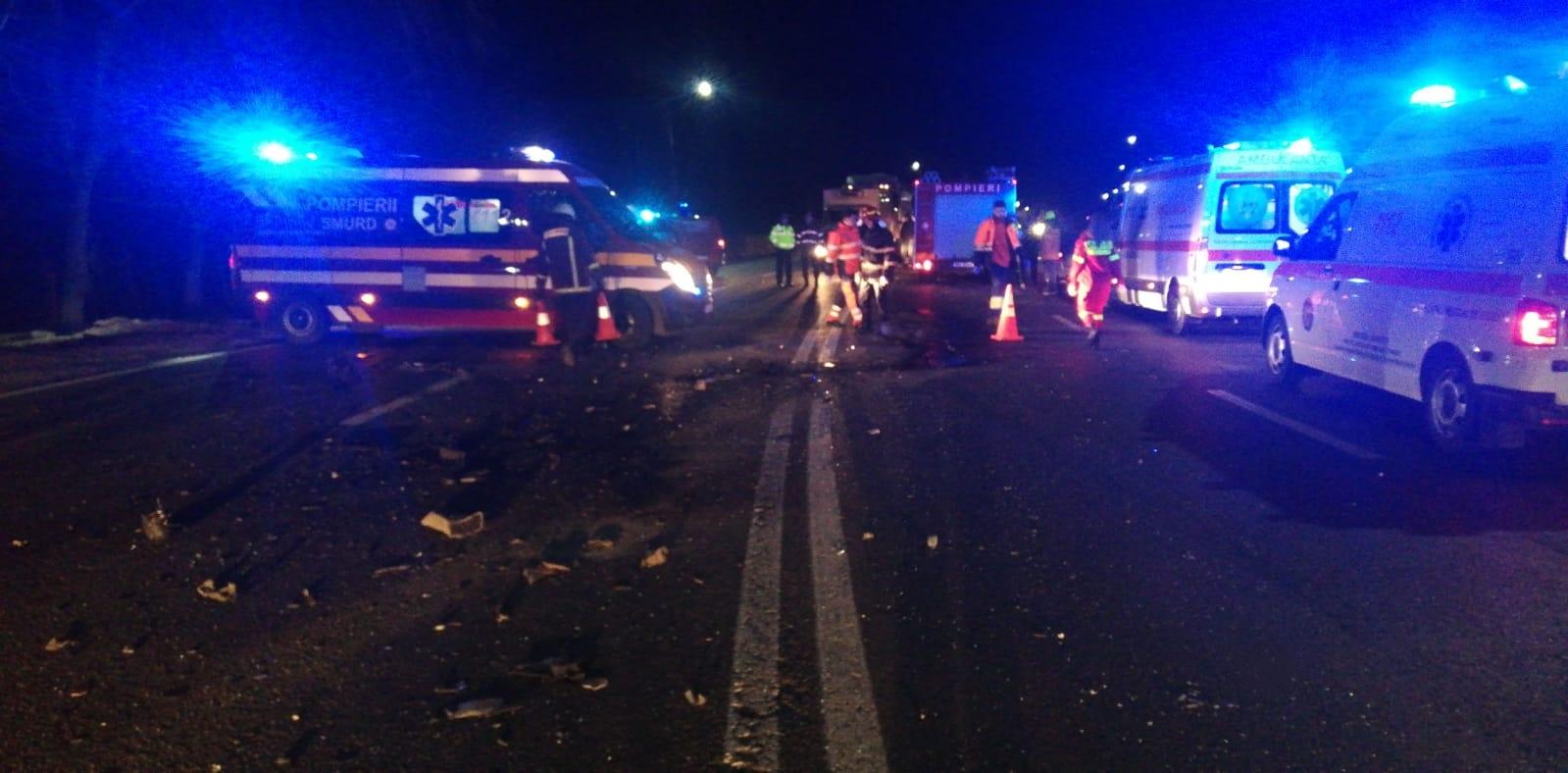 Pieton lovit de maşină pe DN1A, la Boldeşti Scăeni