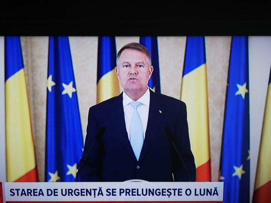 România va rămâne în starea de urgenţă încă o lună!