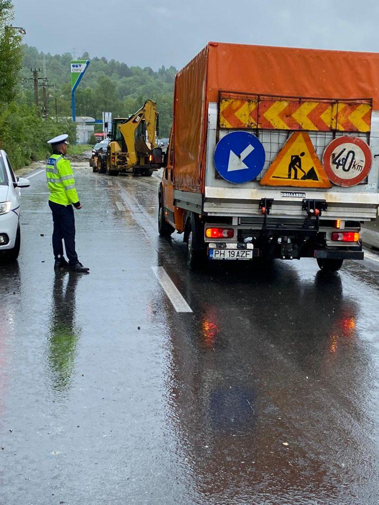Traficul pe DN1 a fost deviat prin Breaza
