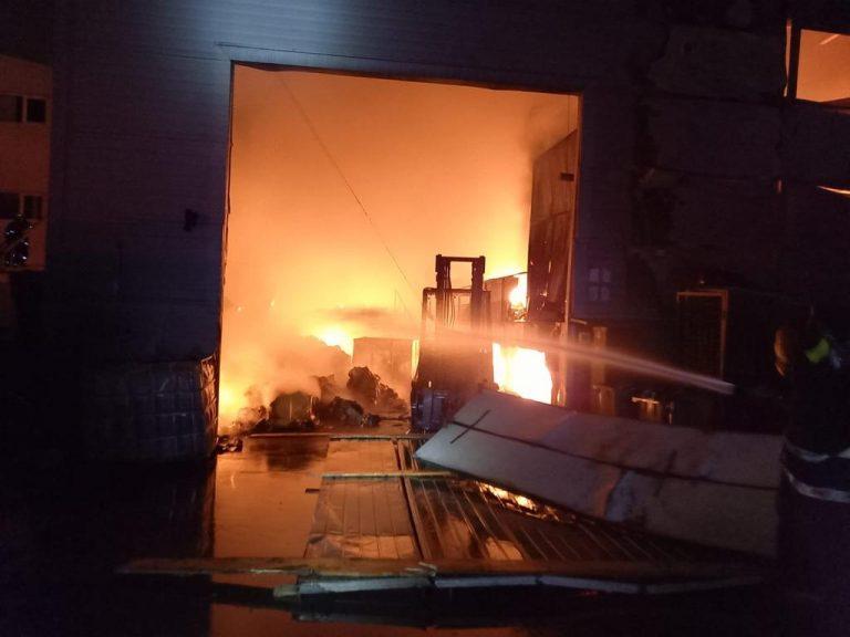 """Cauza incendiului de la Eco Burn: """"folosirea intenționată sau din culpa a condițiilor care au generat evenimentul"""""""